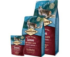 Сухой корм для кошек Carnilove Cat Salmon - Sensitive and Long Hair