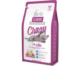 Сухой корм для котят Brit Care Cat Crazy I am Kitten