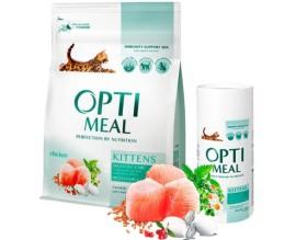 Сухой корм для котят Optimeal - курица