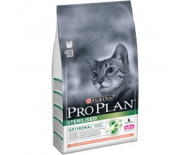 Сухой корм для стерилизованных кошек Purina Pro Plan Sterilised Cat Salmon