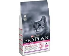 Сухой корм для взрослых кошек Purina Pro Plan Delicate Turkey