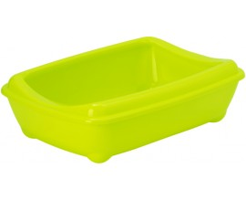 Туалет для кошек Moderna Arist-O-Tray Mini с бортиком лимонный