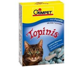 Витаминные мышки с таурином и форелью для кошек Gimpet Topinis, 180 т/220 гр