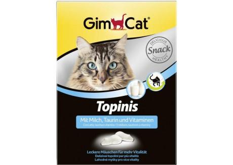 Витаминные мышки с таурином и молоком для кошек Gimpet Topinis, 180 т/220 гр