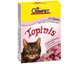Витаминные мышки с таурином и творогом для кошек Gimpet Topinis, 180 т/220 гр