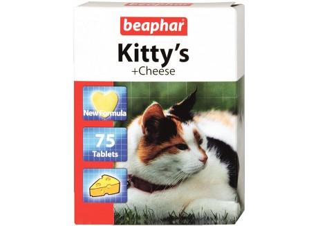 Витамины для кошек Beaphar Kitty's Cheese, 75 табл