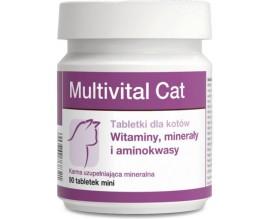 Витамины для кошек Dolfos Multivital Cat, 90 табл
