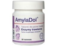 Витамины для пищеварения кошек и собак Dolfos AmilaDol, 30 табл