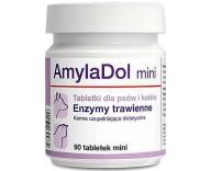Витамины для пищеварения кошек и собак Dolfos AmilaDol Mini, 90 табл