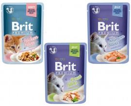Влажный корм для кошек Brit Premium Cat, 85 гр
