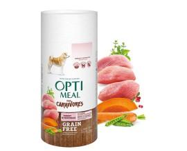 Беззерновой сухой корм для собак всех пород Optimeal - индейка и овощи