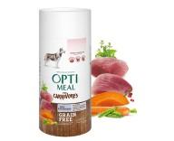 Беззерновой сухой корм для собак всех пород Optimeal - утка и овощи