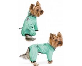 Дождевик для собак Pet Fashion КОСМОС, мятный