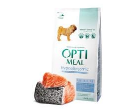 Гипоаллергенный сухой корм для собак средних пород Optimeal - лосось