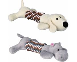 Игрушка для собак Trixie из каната собака, бегемот (35894)