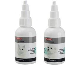 Капли для чистки ушей для собак и кошек Karlie-Flamingo Petcare Ear Cleaner, 50 мл