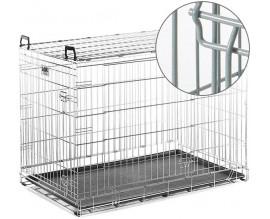 Клетка для собак Savic Dog Residence, цинк хамершлак