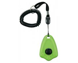 Кликер для дрессировки собак Trixie Clicker с кнопкой и пружинным браслетом (2287)