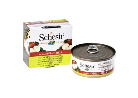 Консервы для собак Schesir Chicken Аpple Курица с Яблоком 0,15 кг