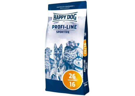 Корм для спортивных собак Happy Dog Хеппи дог Profi-Line Sportive 26/16, 20 кг