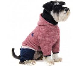 Костюм для собак Pet Fashion ГРАНД, бордо/синий
