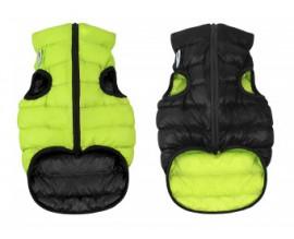 Курточка двухсторонняя для собак AiryVest cалатово-черная
