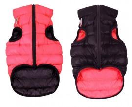 Курточка двухсторонняя для собак AiryVest красно-черная