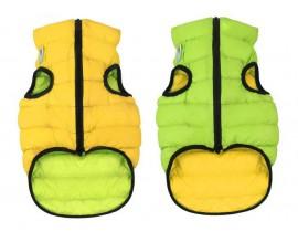 Курточка двухсторонняя для собак AiryVest салатово-желтая