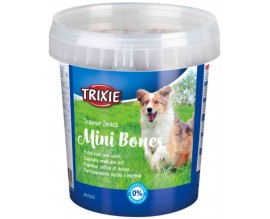 Лакомство для собак Trixie Mini Bones пластиковое ведро, 500 гр (31523)