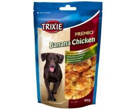 Лакомство для собак Trixie Premio Banana Chicken банан/курица, 100 гр (31582)