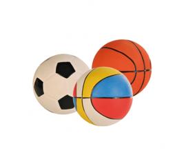 Латексная игрушка для собак Trixie Мяч с пищалкой 13 см (3501)