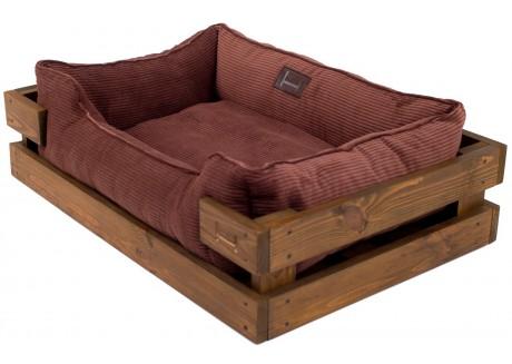 Лежак для собак Harley and Cho Dreamer Nature + Brown