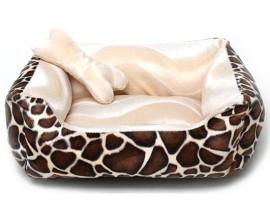 Лежак для собак и кошек Collar Чарли меховой