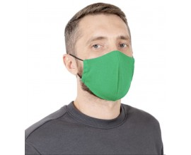 Маска защитная для лица, зеленая