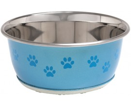 Миска для собак и кошек Karlie-Flamingo Bowl Selecta Paw с рисунком лап