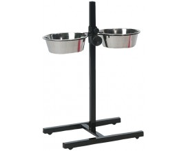 Миски для собак на штативе Karlie-Flamingo H-Frame With Dishes