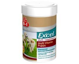 Мультивитамины для щенков 8in1 Excel Multi Vit-Puppy 100 таб (660433 /108634)