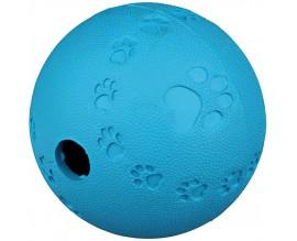 Мяч литой для собак Trixie с лапками и пищалкой