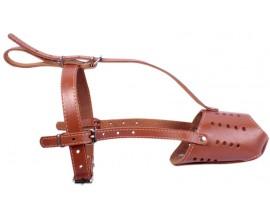 Намордник для добермана Collar, коричневый (06216)