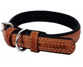 Ошейник Collar SOFT коричневый верх