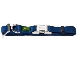 Ошейник для собак Hunter Vario Basic ALU-Strong нейлон синий