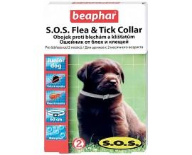Ошейник от блох и клещей для щенков Beaphar SOS Flea Tick Collar, 60 см