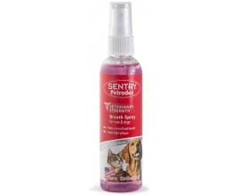 Освежитель дыхания для собак и кошек SENTRY Petrodex Breath Spray, 0,118 л