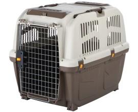 Переноска для собак и кошек Trixie Skudo коричневый/песочный