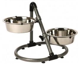 Подставка c мисками для собак Trixie, 2,8 л (25001)