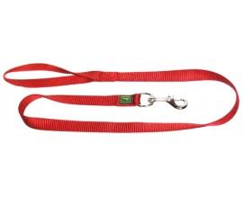 Поводок для собак Hunter нейлон красный
