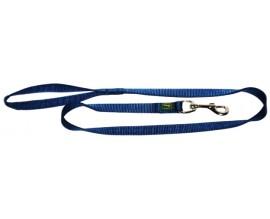Поводок для собак Hunter нейлон темно-синий