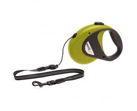 Поводок рулетка для собак Karlie-Flamingo DogxToGo Cord, зеленый