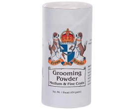 Пудра для собак Crown Royale Grooming Powder Fine Med, 450 гр