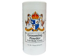 Пудра для собак Crown Royale Grooming Powder Full Body Coats, 450 гр